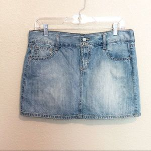 OLD NAVY Denim Jean Mini Skirt